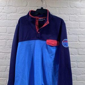 Men's Club Room Half-Button Up Alpine Sweater